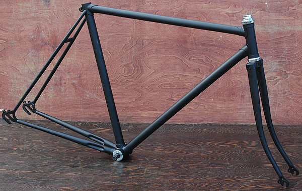 vintage ssb super sonic bicycle lugged steel frame and fork small medium frame this road bike frame is is 52 cm center to center or 535cm center to top