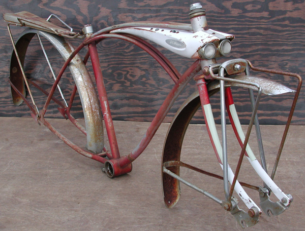 this frame is the perfect addition authentic antique bike restoration ratty mc rat rod or custom chopper bicycle project 400