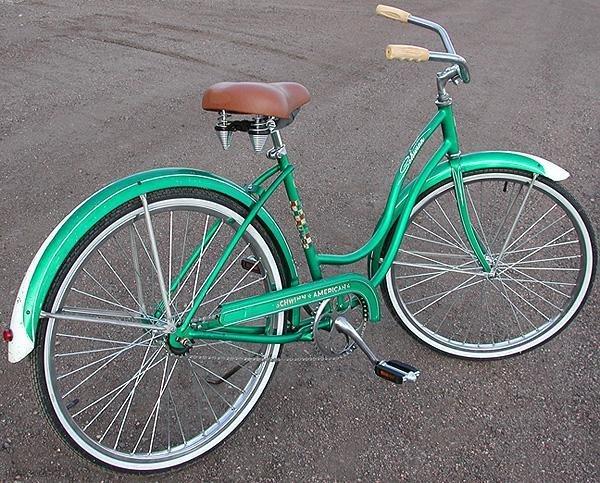 Schwinn Bicycle Painting : Vintage schwinn american classic ladies cruiser bike