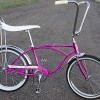 1966 Violet Schwinn Deluxe Stingray Bike