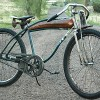 Vintage Viking Rat Rod Bicycle with Murray Springer Fork
