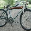 Vintage Viking Rat Rod Bicycle with Murray Springer Fork