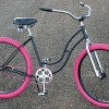 The Femme Deibo a Classic Vintage Ladies Schwinn Recycled Bike $400