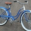 1950 Schwinn Ladies Step Thru Fat Tire Ballooner Bicycle