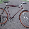1900s Simmons Arch Bar Fixed Gear Vintage Racer Bicycle