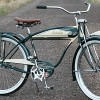 1950 AS Schwinn B-107 StraightBar Postwar Autocycle Bicycle