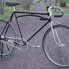 Early 1900s Antique Arch Bar Fixed Gear Track Racer Bicycle