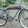 1941 Hawthorne Comet Tank Bike made by HP Snyder / Rollfast