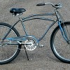 1947 Vintage Shelby Flyer Rat Rod Fat Tire Cruiser Bicycle $420