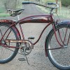 Vintage 1941 Hawthorne Comet Rat Rod Tank Ballooner Bicycle $780