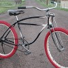 1940 Antique Schwinn LaSalle Ballooner Bicycle with Springer