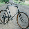 1898 Antique Iver Johnson Wood Wheel Single Tube Safety Bike $3400