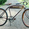 Bad Ol Antique Triumph Excelsior Rat Rod Motorbike Bicycle $1500