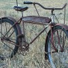 1935 Antique Sears Elgin Oriole MotorBike Ballooner Bicycle $1000