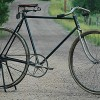 The Flying Merkel Bicycle Early Miami Cycle Wood Wheel Bike