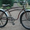1937 Antique Sears Elgin Oriole  Ballooner Bicycle Murray Made