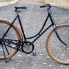 Antique 1899 Ladies Iver Johnson Wood Wheel Safety Bicycle