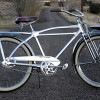 Vintage 1947 Monark Silver King Hex Tube Ballooner Bicycle