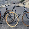 Growing Old Together, His & Hers Iver Johnson Safety Bikes