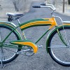 Vintage 1940 Colson Flyer Standard Equipped Ballooner Bicycle $2650
