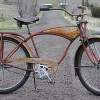 1953 Vintage Schwinn Rusty Red Phantom RatRod Cruiser Bike $1650