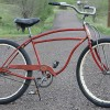 1947 Vintage Schwinn DX Fat Tire Rat Rod Cruiser Bicycle
