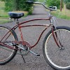 1948 Vintage Schwinn DX Spitfire Rat Rod Ballooner Bicycle $525