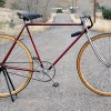 Antique Pierce Arrow Street Racer Wood Wheel Track Bicycle