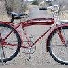 Vintage 1937 Hudson Bicycle made by Pope / Columbia / Westfield Manufacturing $1250