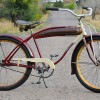 Vintage Prewar 1941 Sears Elgin Bicycle made by Pope / Columbia / Westfield $620