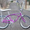 1966 Vintage Schwinn Violet Deluxe 3 Speed Stingray Bicycle $1500