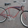 1953 Vintage Schwinn Fat Tire Rat Rod Springer Cruiser Bike