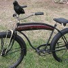 The Crow: A Bad 1941 Prewar Hawthorne Rat Rod Fat Tire Bike