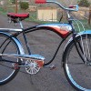 1957 Antique Shelby Flyer Super Deluxe AirFlow Tank Bicycle