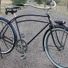 Antique 1938 Wards Hawthorne Monark Built 5 bar Bicycle
