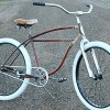 1955 Vintage Schwinn Fat Tire Spit Fire Rat Rod Cruiser Bike