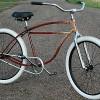 1954 Vintage Schwinn StraightBar FatTire RatRod Cruiser Bike