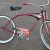 1952 Vintage Schwinn Red Phantom FatTire RatRod Cruiser Bike