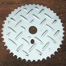 Sprocket: Checker Plate 44 Tooth Bicycle Sprocket
