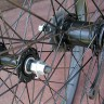 Wheels: New Black Alloy 26″ Cruiser Bike Wheels A-Set