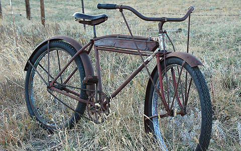 antique bicycle