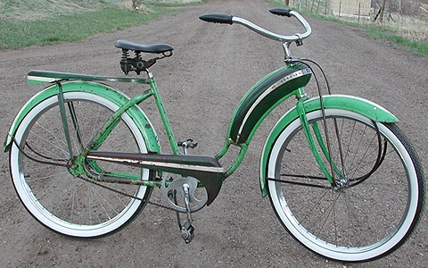 Firestone Super Cruiser Bicycle http://luxlow.com/bicycles/1941-antique-ladies-firestone-bullnose-cruiser-bicycle/