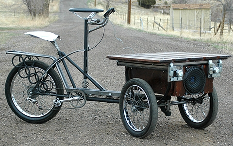 2010 lux low trike of boom custom tricycle music bike. Black Bedroom Furniture Sets. Home Design Ideas