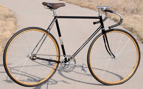 Vintage 1940 Schwinn Superior Fixed Gear Track Racer Bicycle