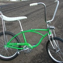 95ce3052060 1965 Lime Schwinn Stingray Bike J-33 2 Speed
