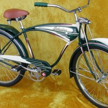 1949 Schwinn Henderson B-6 Ballooner Bike