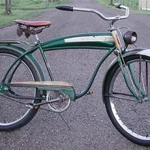 Vintage 1957 AMF Cleveland Welding Built Roadmaster Ballooner Bike