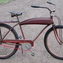 1950s JC Higgins Rustic Rat Rod Ballooner Cruiser Bicycle