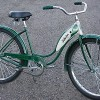 1954 Vintage Forest Green Ladies Schwinn Hornet Bicycle
