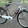 1940 Antique Ladies Elgin 4 Star Ballooner Tank Bicycle